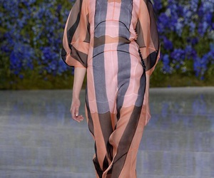 Christian Dior and runway image