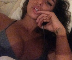 bed, vibes, and boobs image