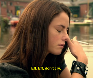 skin, cry, and Effy image