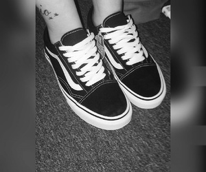 blackandwhite, classic, and shoes image