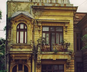 old, architecture, and house image