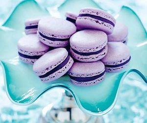 purple, food, and cake image