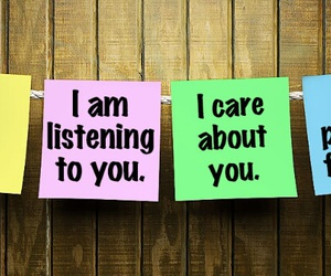 i care about you, i am with you, and i am listening to you image
