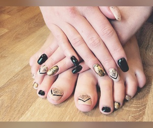 beauty, nail, and pedicure image