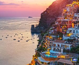 italy, city, and sea image