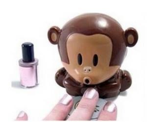 nails and monkey image