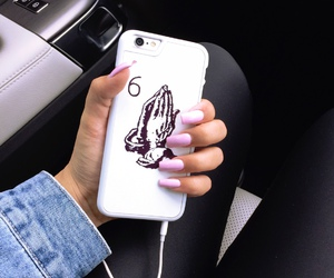 nails, Drake, and iphone image
