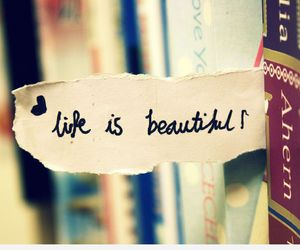 beautiful, life is beautiful, and books image