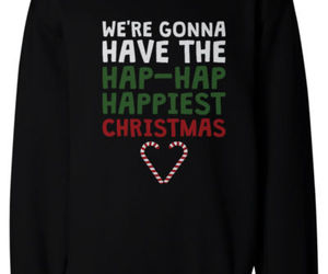 christmas sweater, christmas outfit, and cool sweatshirt image