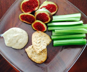 celery, Cookies, and fig image