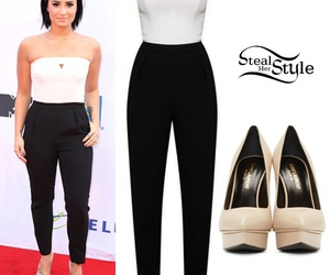 demi lovato, fashion, and outfit image