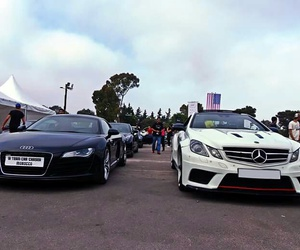 audi, left, and mercedes image