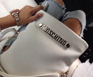 fashion, Moschino, and bag image