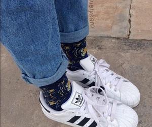 adidas, grunge, and aesthetic image