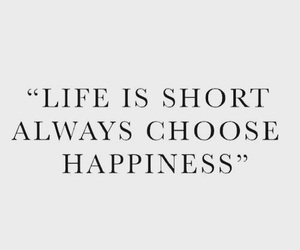 quotes, life, and happiness image