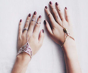 rings, jewelry, and bracelet image