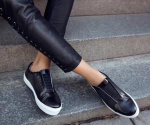fashion, flats, and girl image