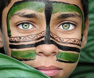 green, culture, and eyes image