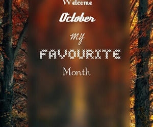 beauty, october, and welcome image