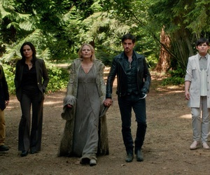 once upon a time, snow white, and dark swan image