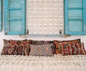 pillow, boho, and home image