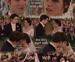 bella, forever, and new moon image
