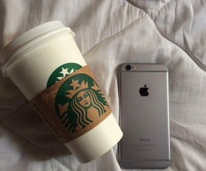 iphone, aesthetic, and coffee image