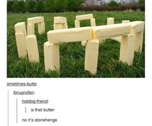 funny, butter, and lol image