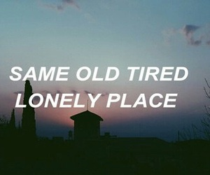 grunge, lonely, and place image