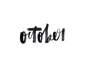 october, quotes, and autumn image