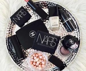 chanel, nars, and makeup image