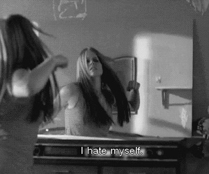 hate, myself, and mirror image