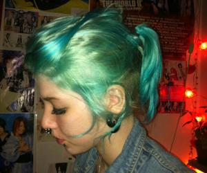 blue mermaid hair image