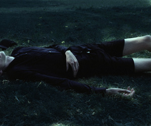 black clothes, dead, and legs image
