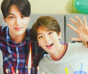 kai, exo, and baekhyun image