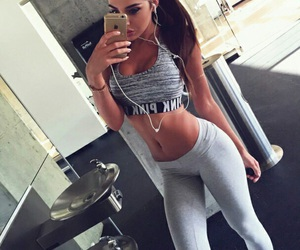 fitness, girl, and body image