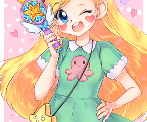 anime, cute, and star butterfly image