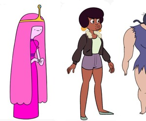 adventure time, body positivity, and steven universe image