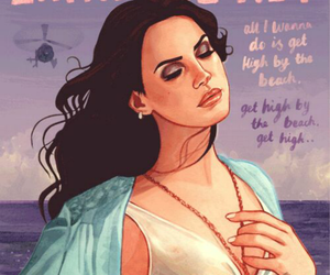 lana del rey, music, and art image