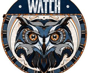 owl, watch, and buhó image