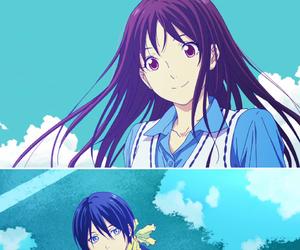 yato, noragami, and hiyori image