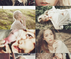 album, beautiful, and girls generation image