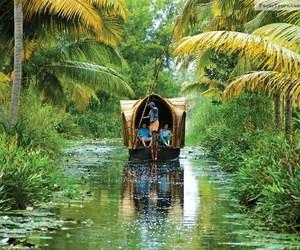 beautiful, kerala, and places image