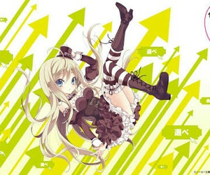 anime, noucome, and chocolat image