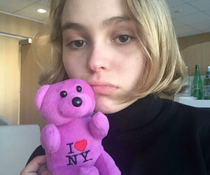lily rose depp and blonde image