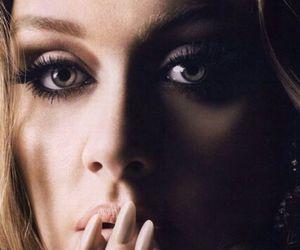 Adele, beautiful, and eyes image