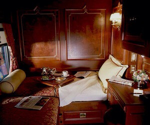 cabinet and orient express. image