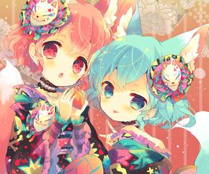 anime, loli, and арт image