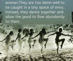 dance, no competition, and wild woman image