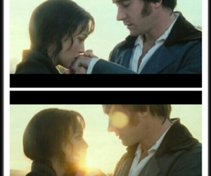 Elizabeth, Mr. Darcy, and pride and prejudice image